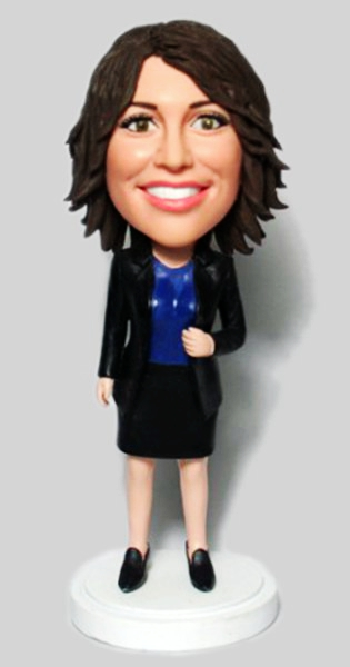 Custom Custom Office Lady Bobblehead