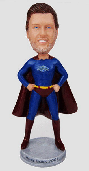 Custom Make your own superman bobblehead