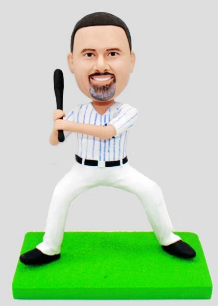 Custom Custom Bobblehead Baseball Player