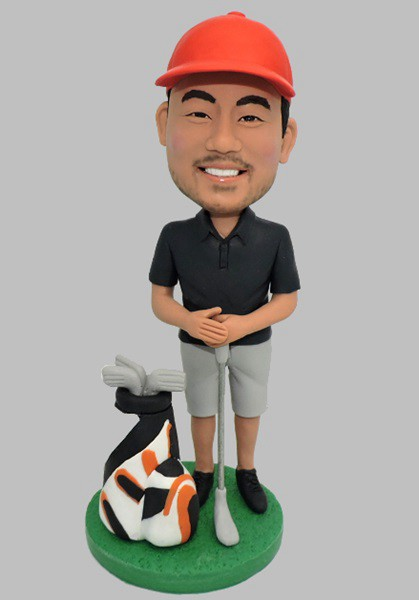 Custom Custom Golf Bobblehead