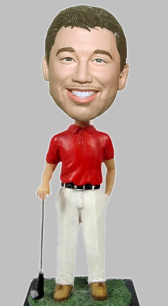 Custom Custom Golf bobbleheads