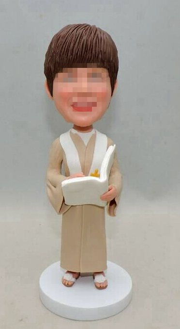 Custom Custom wedding officiant bobblehead