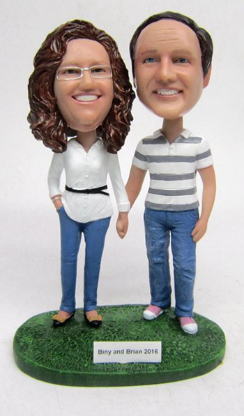 Custom Best bobbleheads gift for Parents