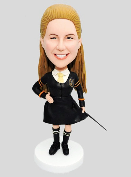Custom Custom Bobblehead School Girl