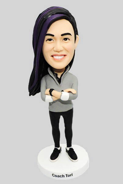 Custom Custom Female Fitness Instructor Bobblehead