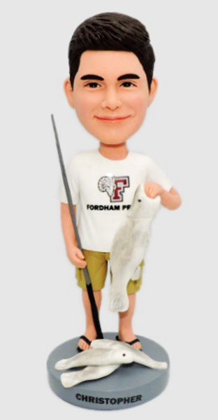 Custom Big catch fisherman bobbleheads