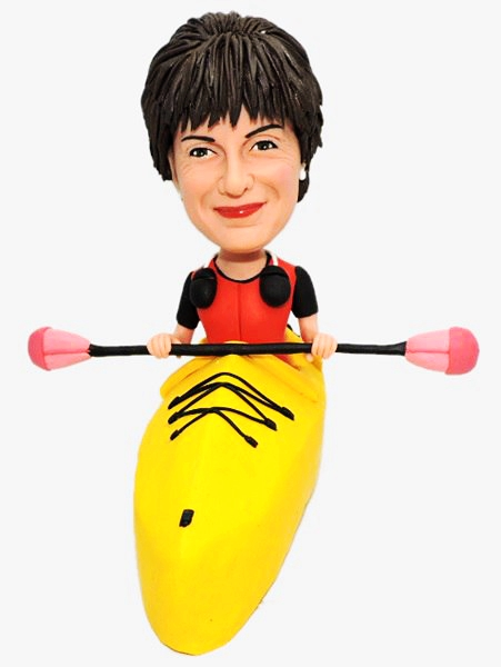 Custom Custom kayaking bobbleheads