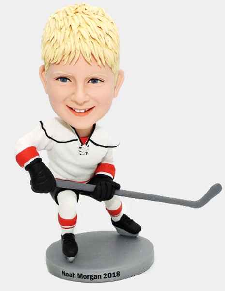 Custom Custom Hockey Player Bobbleheads