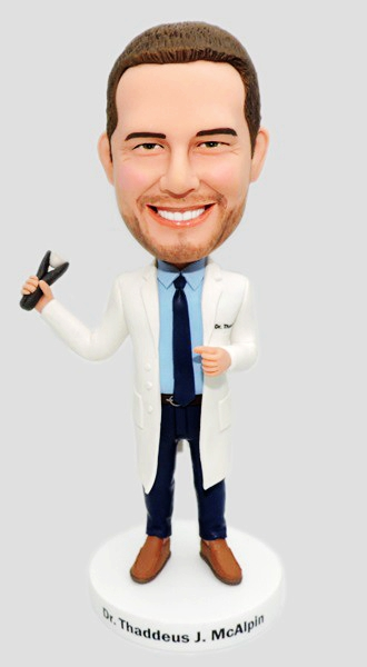 Personalized Bobblehead Dentist