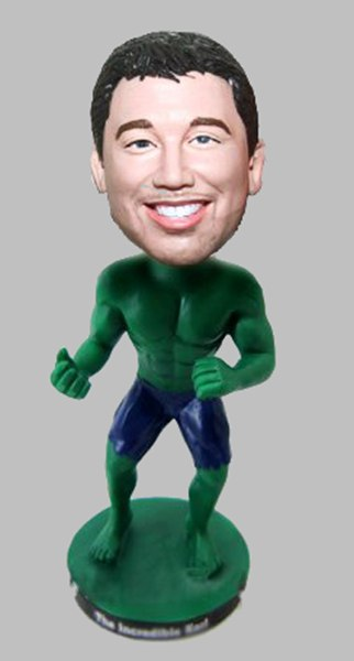 Custom Create Incredible Hulk Bobblehead
