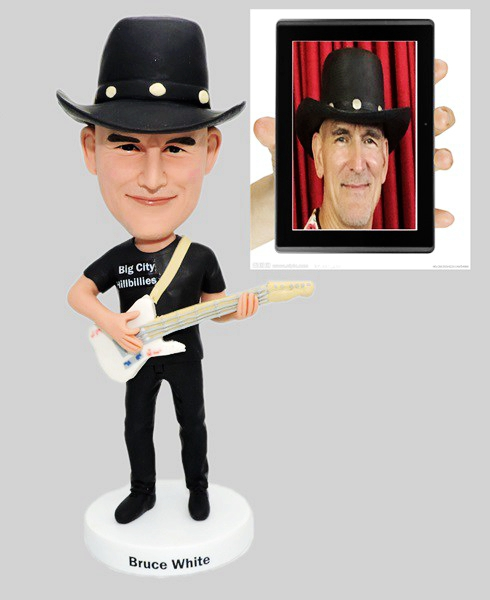 Custom Custom Bobblehead Guitar Player