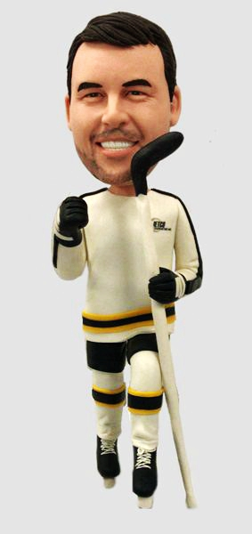 Custom Custom Hockey bobbleheads