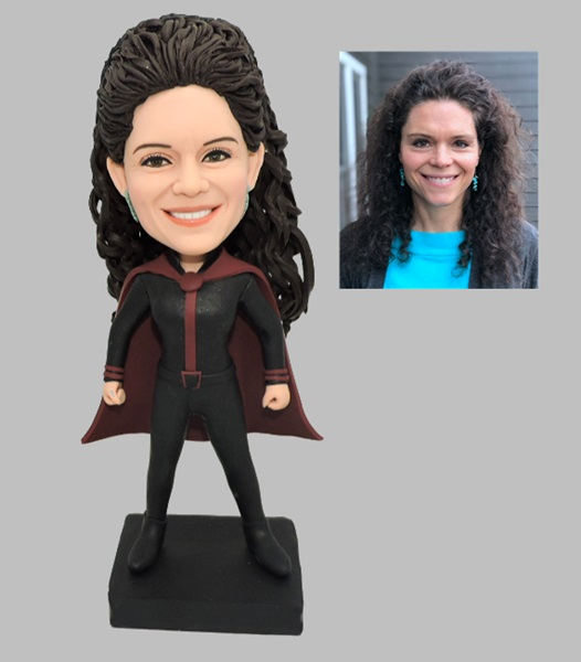 Custom Custom Super woman bobbleheads