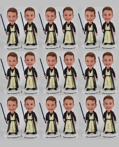 Custom Custom 40 BobbleHeads Groupon Corporate Gifts
