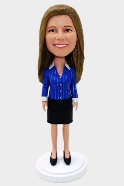 Custom Custom Bobbleheads Office Lady