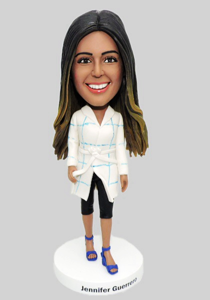 Custom Custom Fashion Lady Bobblehead