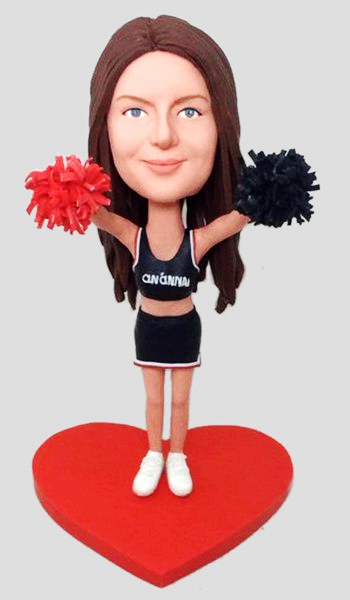 Custom Custom Bobbleheads For Cheer Leader