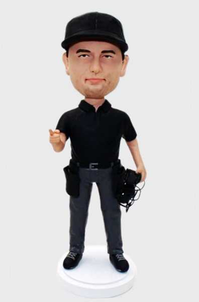 Custom Personalized Baseball Sports Referee Bobbleheads