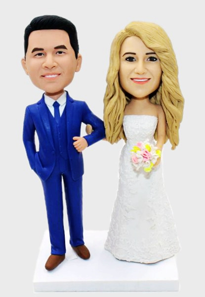 Custom Custom Your Wedding Bobbleheads
