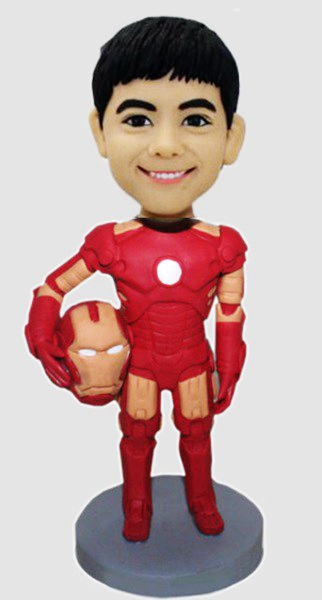 Custom Custom Iron Man Bobbleheads