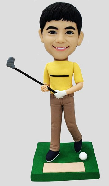 Custom Personalized Golf Player Bobblehead