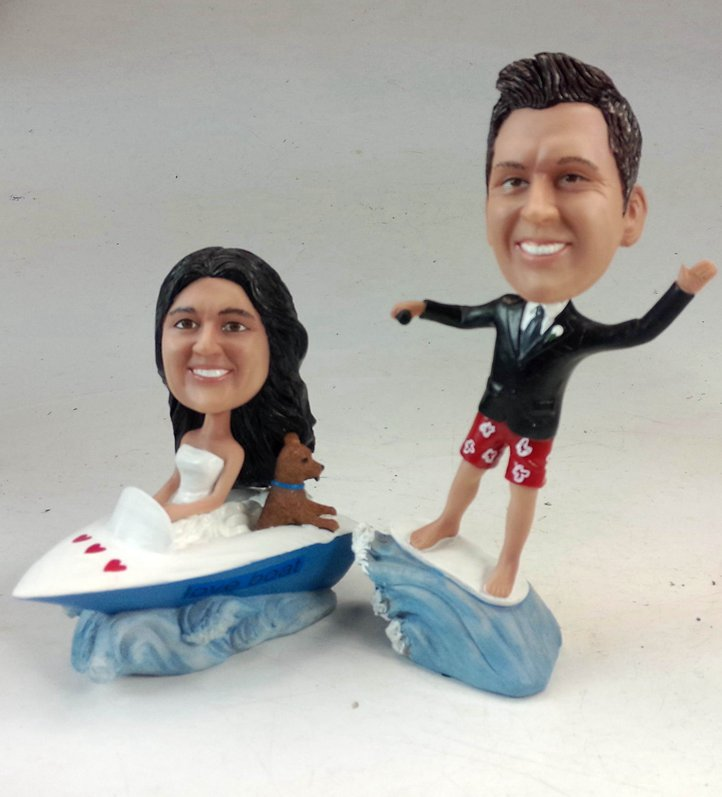 Custom Personalized sea theme bobbleheads