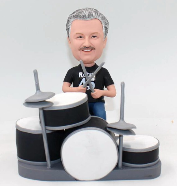Custom Custom Bobblehead Rock Band Drummer