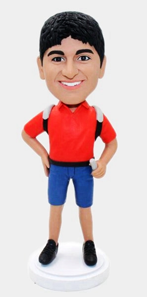 Custom Custom Backpacker bobbleheads