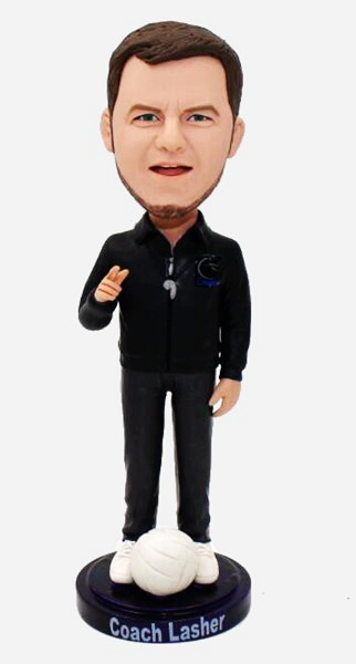 Custom Create Bobblehead For Coach