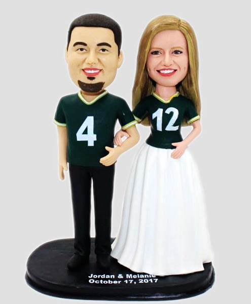 Custom Custom Weddding Bobbleheads Sports Fans