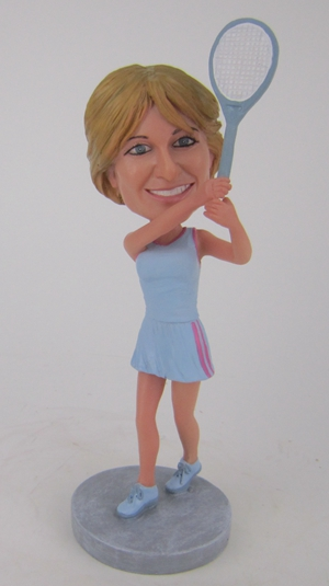 Custom Custom tennis bobblehead doll