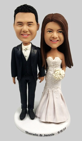 Custom Personalized Your Wedding Bobblehead