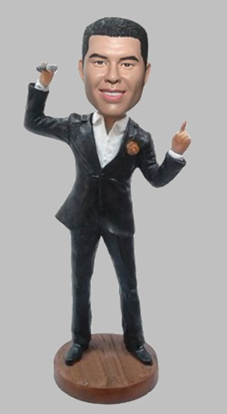 Custom Create Singer bobbleheads
