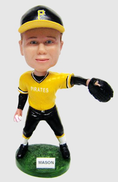 Custom Pittsburgh Pirates baseball bobblehead