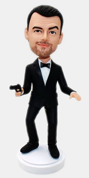 Custom Custom James Bond bobbleheads