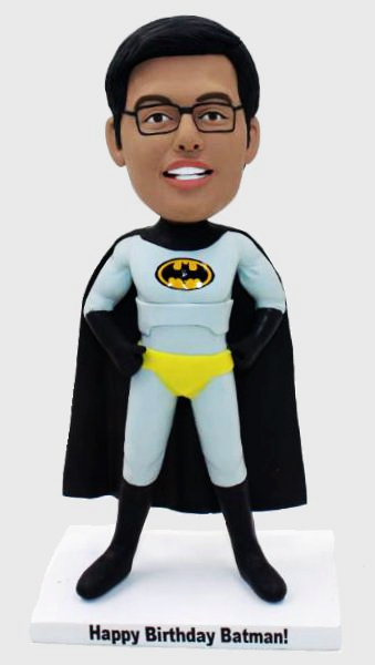 Custom Superhero Batman Custom Bobbleheads