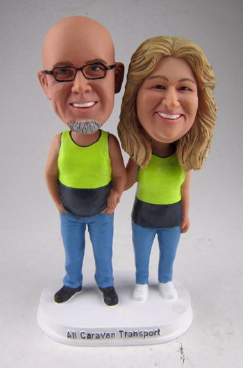 Anniversary Bobbleheads make from photo