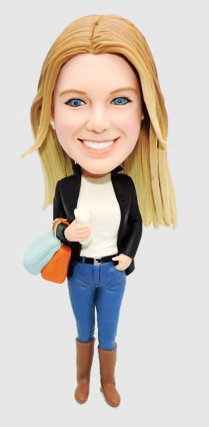 Custom Custom shopping bobbleheads
