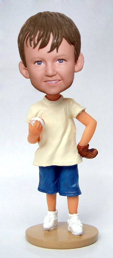Baseball Little Pitcher bobblehead