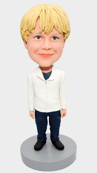 Custom Casual Boy bobblehead