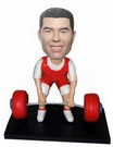 Custom Custom weight lifter bobblehead