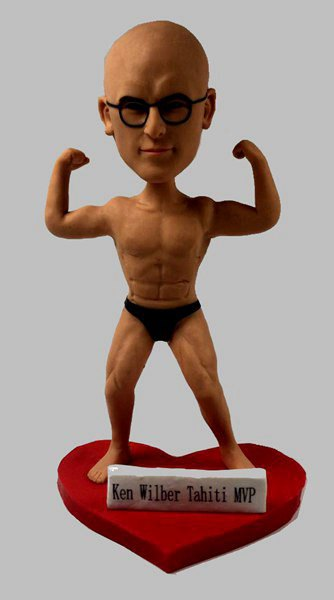 Custom Bodybuilder Man bobblehead