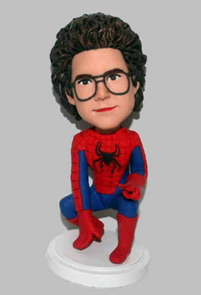 Custom Custom Bobblehead Spider-Man
