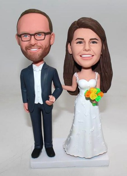 Custom Personalized Wedding Bobblehead