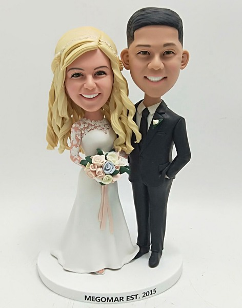 Custom Custom Bobblehead For Wedding