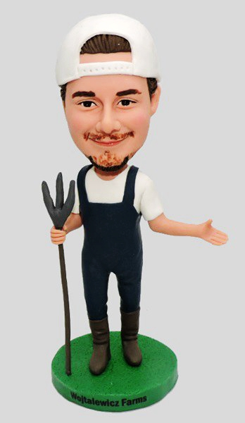 Custom Custom Country Farmer Bobbleheads