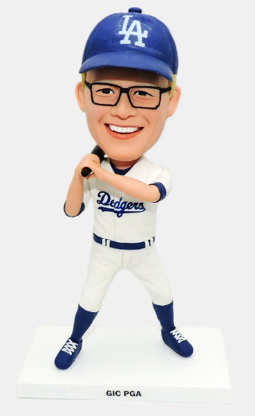 Custom Custom Bobbleheads LA Dodgers Baseball Player