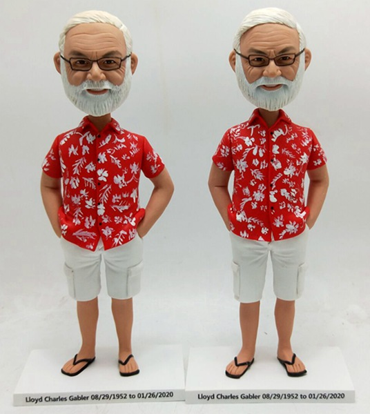 Custom Custom Bobblehead Hawaii Style