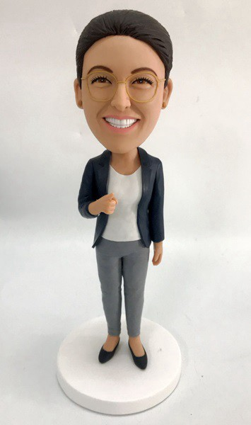 Custom Custom Bobblehead Casual Female