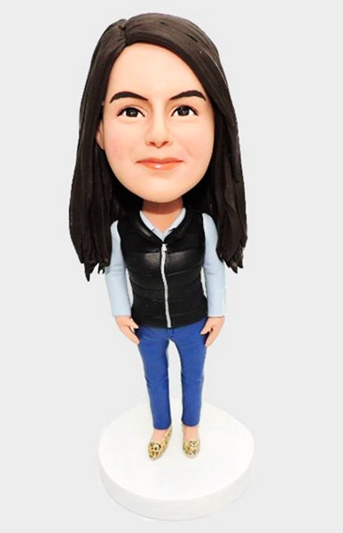 Custom Personalized Bobbleheads-Casual Female